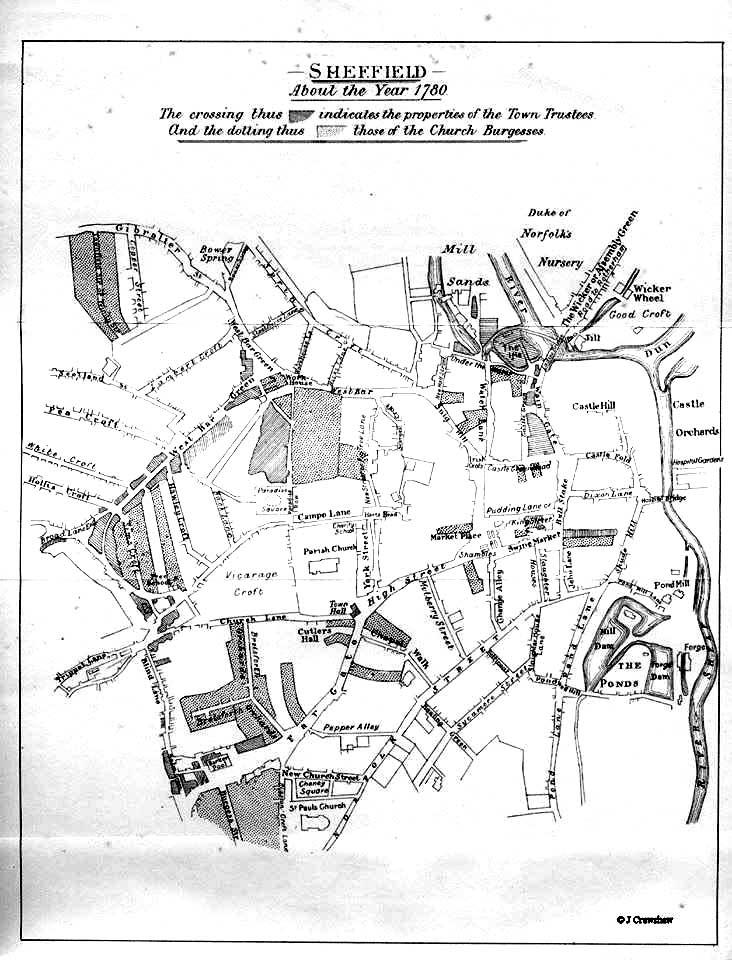 Sheffield in 1790