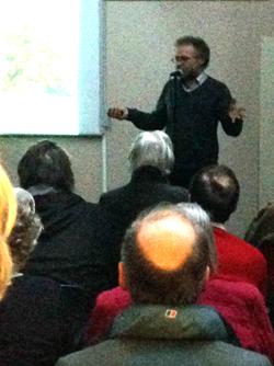 Glyn Davies' talk