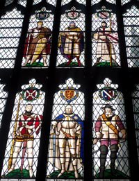 A window in Sheffield Cathedral