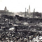 Castle street during the Blitz