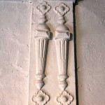 plaster in Bishops House