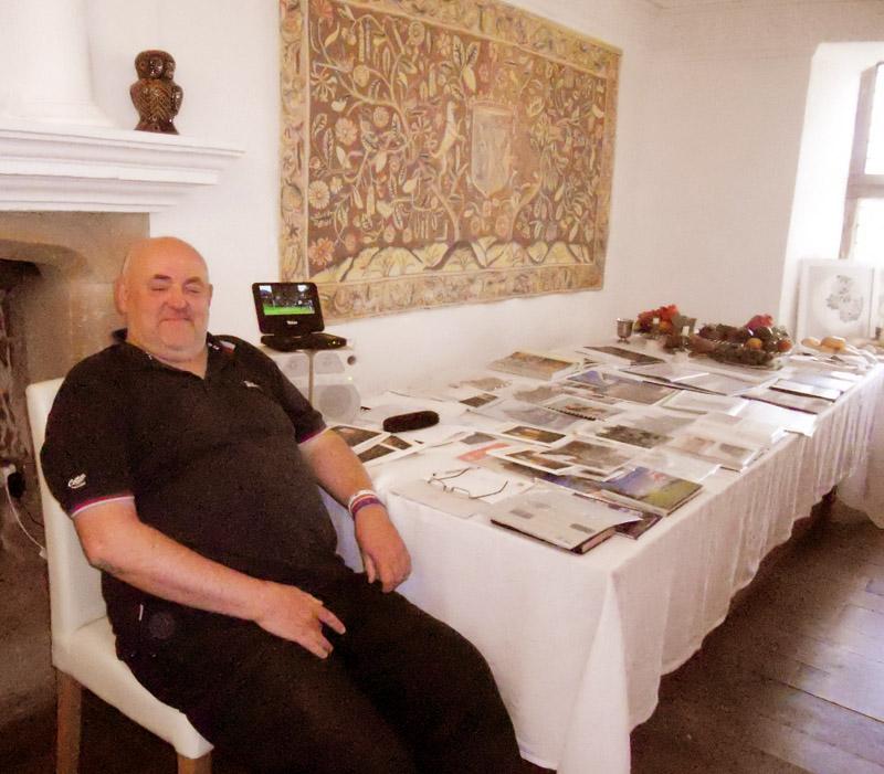 Ron at the Lodge May 2013