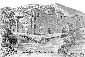 The castle in 1060