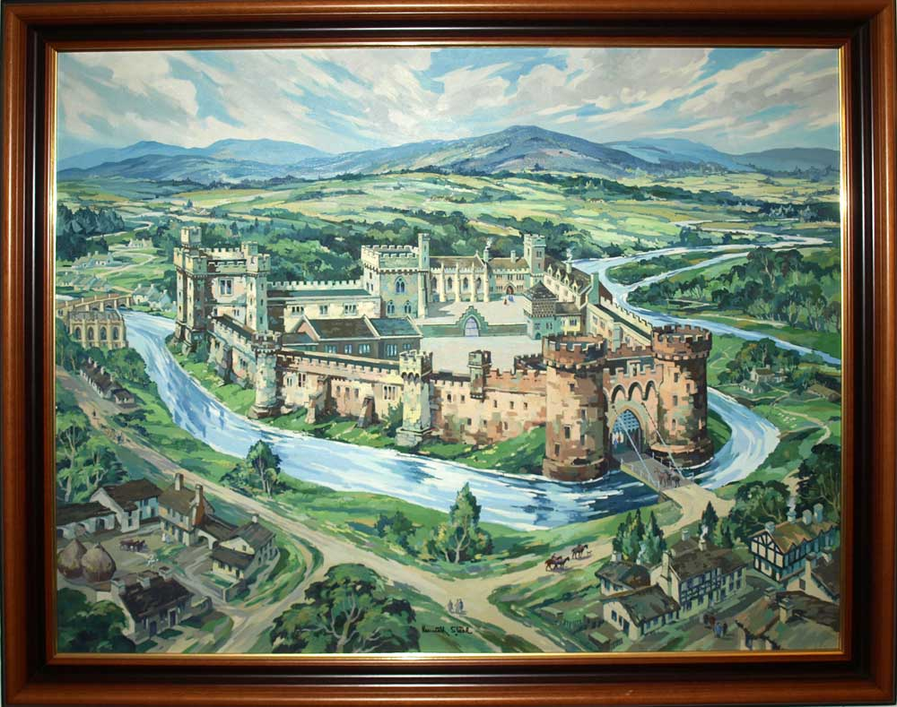 the original Steele painting